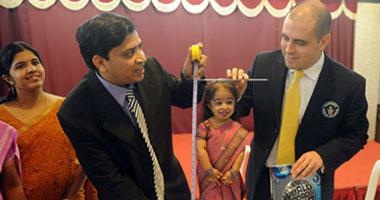 هندية تدخل موسوعة جينس لأقصر امرأة فى العالم / صور S12201116111251