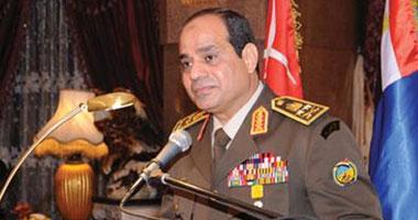 الفريق أول عبد الفتاح السيسى وزير الدفاع