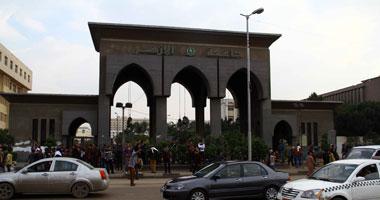 قيام جماعة الاخوان الارهابية الان بمنع طلاب كلية التجارة من اداء الامتحانات جامعة الازهر
