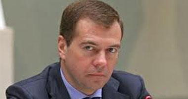 رئيس الوزراء الروسى دميترى ميدفيديف