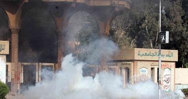 """بالفيديو.. """"قناصة الإخوان"""" يصيبون طالبة فى الرأس أمام المدينة الجامعية بالأزهر"""