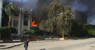حريق محدود بمدرسة الثانوية الزراعية فى بنى مزار بالمنيا دون خسائر