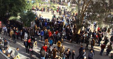 تصاعد الاشتباكات بين الأمن وطالبات الإخوان بالمدينة الجامعية بالأزهر