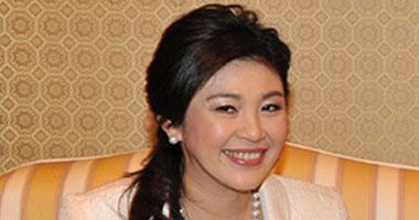 رئيسة الوزراء التايلاندية ينجلوك شيناواترا