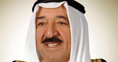 أمير الكويت يعزى الرئيس الجزائرى فى ضحايا حادث تحطم الطائرة العسكرية