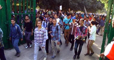 حبس طالبين بجامعة الأزهر قطعا طريق مصطفى النحاس 15 يومًا