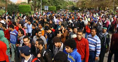 """وقفة احتجاجية لطلاب الإخوان بـ""""إعلام القاهرة"""" للمطالبة بالإفراج عن طالب"""