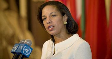 سوزان رايس سفيرة الولايات المتحدة لدى الأمم المتحدة