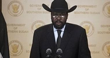 رئيس جنوب السودان يصل الخرطوم فى زيارة رسمية للسودان تستغرق يومين