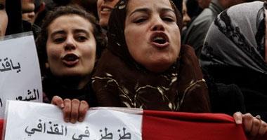 إعدام جرحى المتظاهرين الليبيين داخل