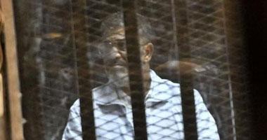 تأجيل محاكمة مرسى فى قضية التخابر لـ 2 يونيو