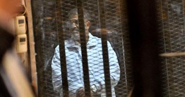 مرسى أثناء محاكمته