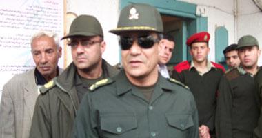 مدير الشرطة العسكرية يتفقد اللجان الانتخابية بالدقى