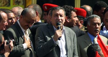 """""""شرف"""": جئت إلى ميدان التحرير لأستمد شرعيتى من الشعب"""