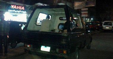 بدء مراسم تشييع جنازة شهيد الشرطة بكفر الشيخ