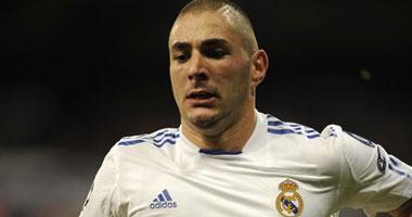 كريم بنزيمة لاعب ريال مدريد