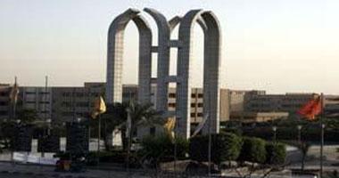 تظاهر طلاب الإخوان بجامعة حلوان ضد الاستفتاء على الدستور