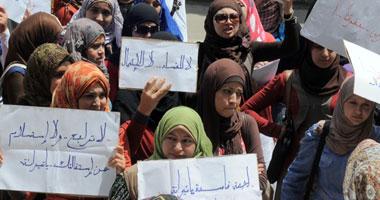 طالبات مدينة جامعة القاهرة يتظاهرن لإقالة مدير المدن