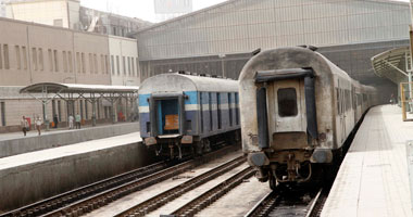 قطارات  مصر بلا ركاب