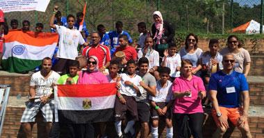 منتخب مصر لأطفال الشوارع يهزم جنوب إفريقيا فى مونديال البرازيل
