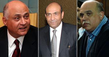 يوسف عبد الرحمن وهاني سرور و محمد إبراهيم سليمان