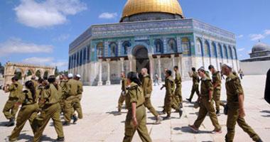 """جنود إسرائيل يقتحمون """"المسجد الأقصى"""""""