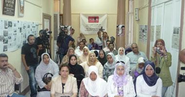 ممرضات شبين الكوم يواصلن اعتصامهن للمطالبة بحقوقهن