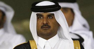 السعودية نيوز |                                              أمير قطر يعزى خادم الحرمين بعد وفاة الأميرة طرفة بنت سعود