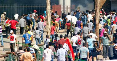 متظاهرو القائد ابراهيم بالاأسكندرية يقطعون طريق الكورنيش