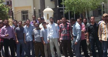 تظاهر مدرسى الحصة بمشيخة الأزهر للمطالبة بالتثبيت