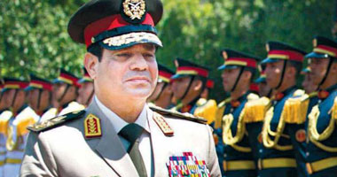 قرار جمهورى بترقية الفريق أول عبد الفتاح السيسى إلى رتبة المشير