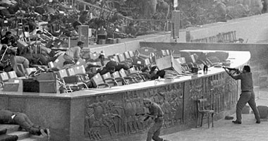 حادث المنصة - صورة أرشيفية