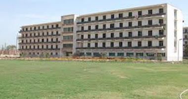 مبنى المدينة الجامعية بسوهاج