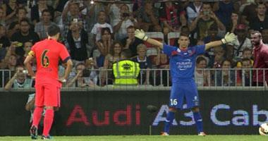 اهداف مباراة نيس 1-1 برشلونة  في مباراة ودية  تعليق: محمد بركات