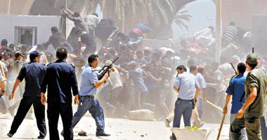 إجلاء عائلات مصرية من مناطق الاشتباك بين قوات حفتر ومليشيات بنغازى