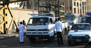 انتشار أمنى بشوارع القاهرة- تصوير أحمد اسماعيل