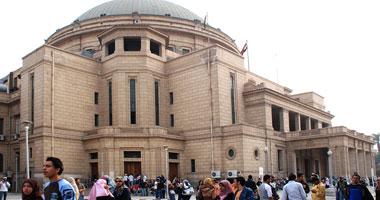 إقبال متوسط فى أول أيام المرحلة الثانية للتنسيق بهندسة القاهرة بسبب اعتصام النهضة S9200811143220