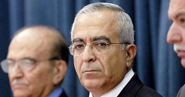 سلام فياض رئيس الوزراء الفلسطينى المستقيل