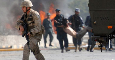 مقتل 3 جنود أمريكيين فى انفجار عبوة ناسفة قرب مدينة غزنة الأفغانية