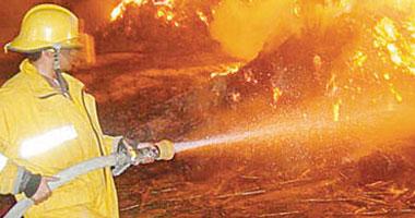 8 سيارات إطفاء تسيطر على حريق داخل فيلا للتصوير السينمائى بأكتوبر S920114103012.jpg