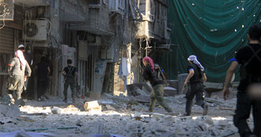 """""""تنظيم عصائب أهل الحق"""" بالعراق يشيع قتيلين منه سقطا فى سوريا"""