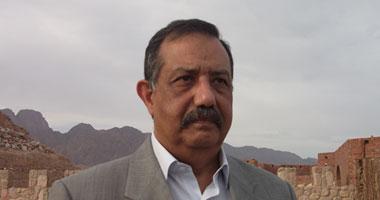 اللواء محمود الحفناوى مدير أمن جنوب سيناء