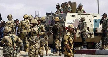 بيان للجيش والشرطة: اتخاذ الإجراءات اللازمة لضبط منفذى حادث العريش
