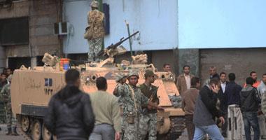 الجيش يتدخل مشاجرة الباعة الجائلين