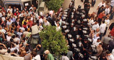 مخاوف من انفلات الشارع بسبب الإضرابات - تصوير عصام الشامى