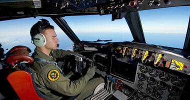 جانب من عمليات البحث عن الطائرة الماليزية المفقودة
