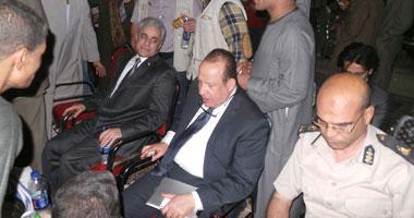 حمدين صباحى أثناء الاحتفال بذكرى الشيخ أحمد التونى