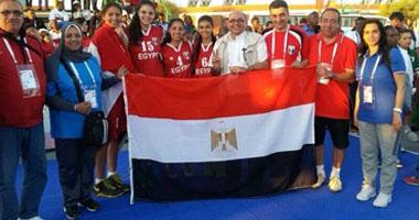 الفوج الثالث من البعثة المصرية يتوجه الى المغرب للمشاركة فى دورة الالعاب الإفريقية