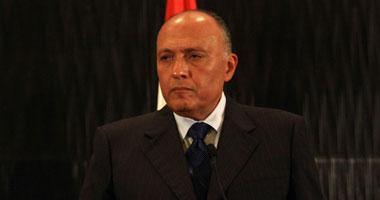وزير الخارجية: ندعو لاتباع نهج جماعى ودولى فى مواجهة همجية الإرهاب