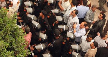 "جانب من احتجاجات شباب ""6 إبريل"""